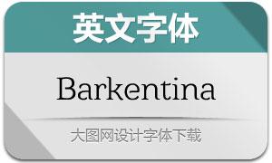 Barkentina(英文字体)