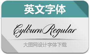 Cylburn(英文字体)
