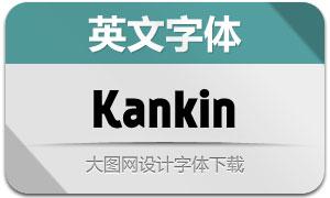 Kankin(英文字体)