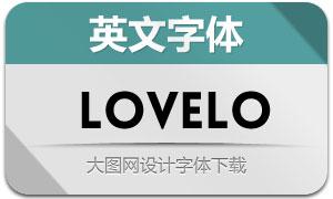 Lovelo(英文字体)