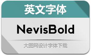 NevisBold(英文字体)