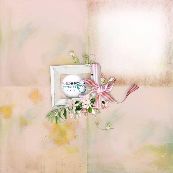 剪贴素材粉色礼物礼盒礼品花环花朵