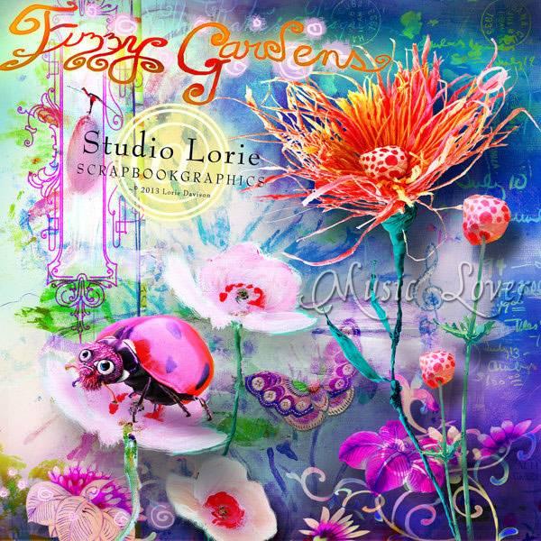 魔幻水彩花朵装饰等图片素材