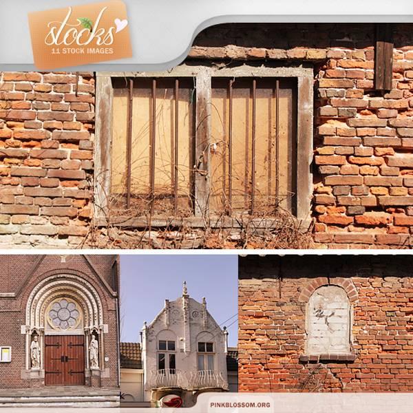 欧式建筑和风景背景等图片素材