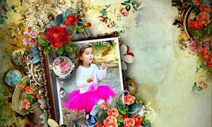 欧式家具和时尚花朵等图片素材