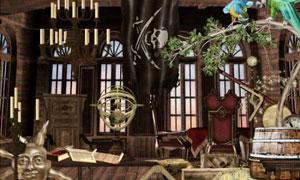 海盗船和家具风景照片等图片素材