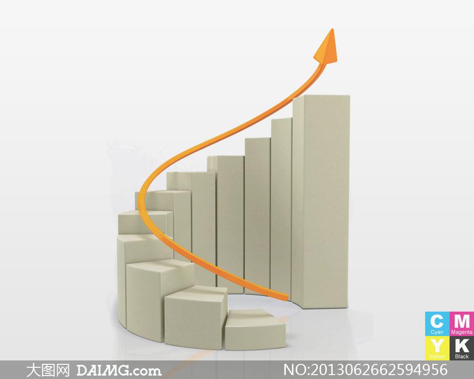 高清大图素材图片创意设计商业商务统计图图片