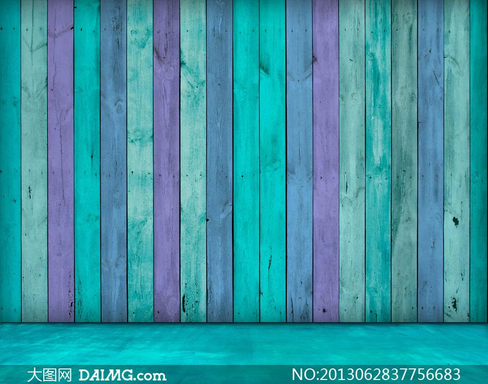 2014蓝色开放漆木纹贴图蓝色木纹贴图 蓝色做旧木纹贴图 图片
