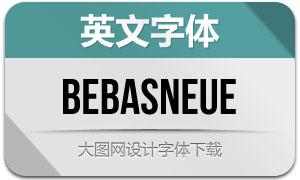 BebasNeue(英文字体)