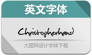Christopherhand(手写英文字体)