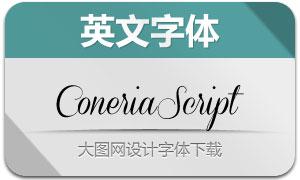 ConeriaScript(英文字体)