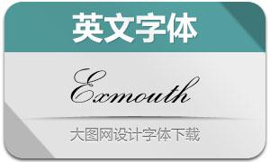Exmouth(英文字体)