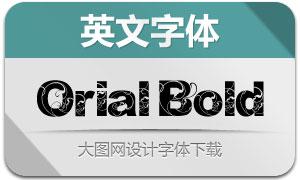 OrialBold(花纹装饰英文字体)