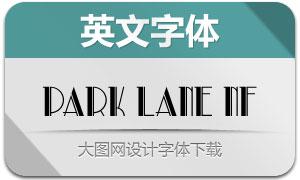 ParkLaneNF(创意英文字体)