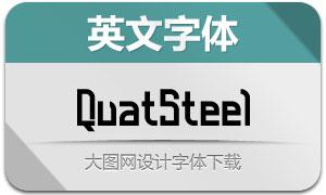 QuatSteel-DemiBold(英文字体)