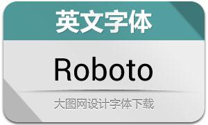 Roboto系列16款英文字体
