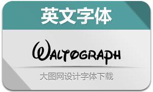 Waltograph(两款英文字体)