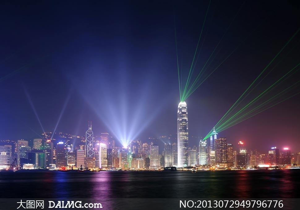 香港的维多利亚港夜景移动图片高清-大图网设设计ui摄影的历程图片