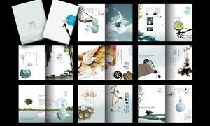 中国风传统韵味画册模板PSD源文件