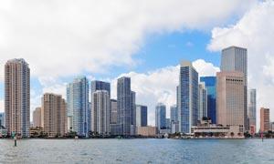 佛罗里达州迈阿密风光摄影高清图片