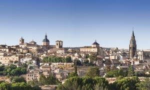 西班牙托莱多古城风光摄影高清图片