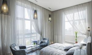 景观卧室房间里的摆设摄影高清图片