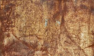 锈迹斑斑和划痕背景PS教程素材