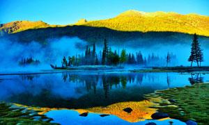 赛里木湖风景风光摄影图片素材