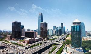 都市立交桥摄影图片素材