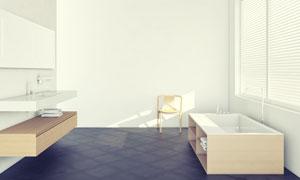 室内置物架与家具陈设摄影高清图片