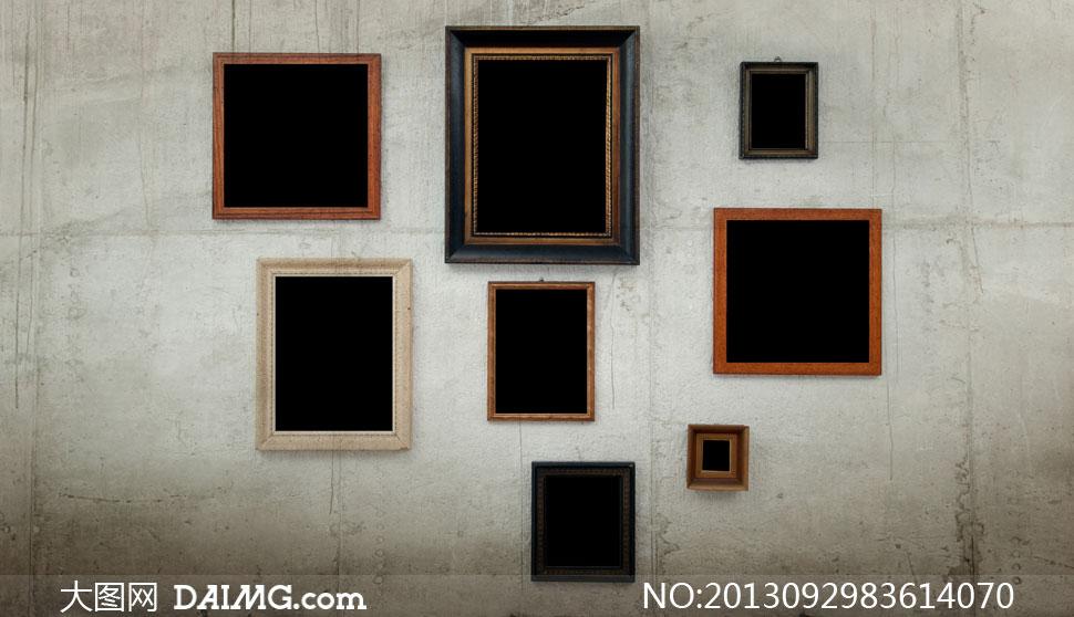 墙壁墙面黑色欧式古典
