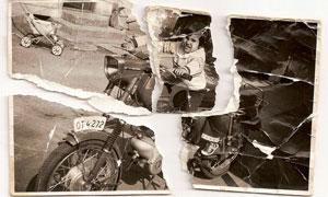 修复严重损毁的照片PS教程素材