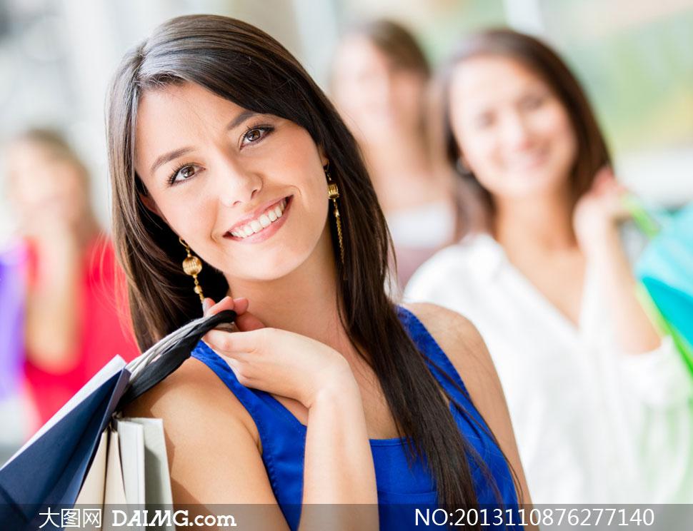 长发气质美女人物近景摄影高清图片