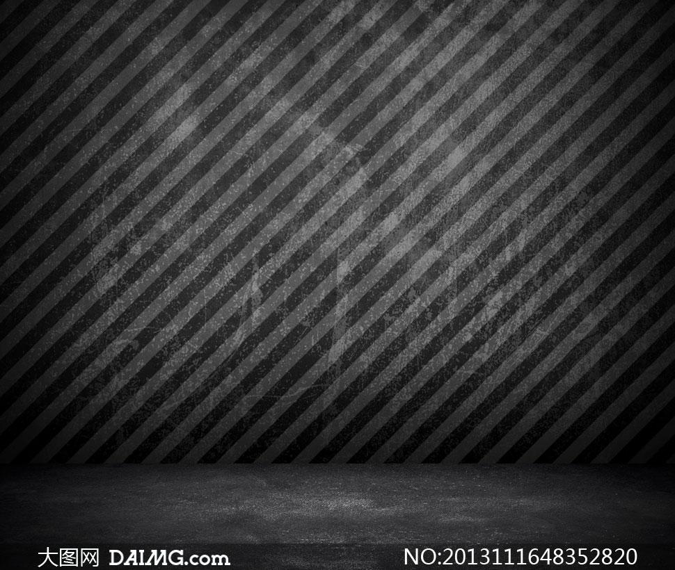 颓废风格斜纹墙壁背景摄影高清图片