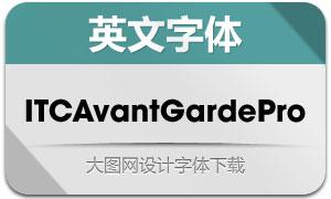 ITCAvantGardePro系列10款字体
