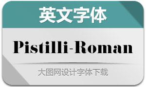 Pistilli-Roman(英文字体)