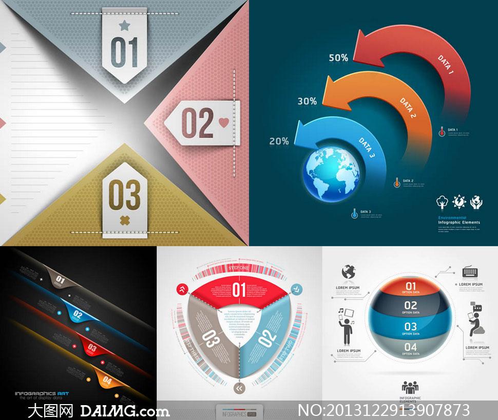 关键词: 矢量素材矢量图设计素材设计元素信息图表流程图质感炫彩
