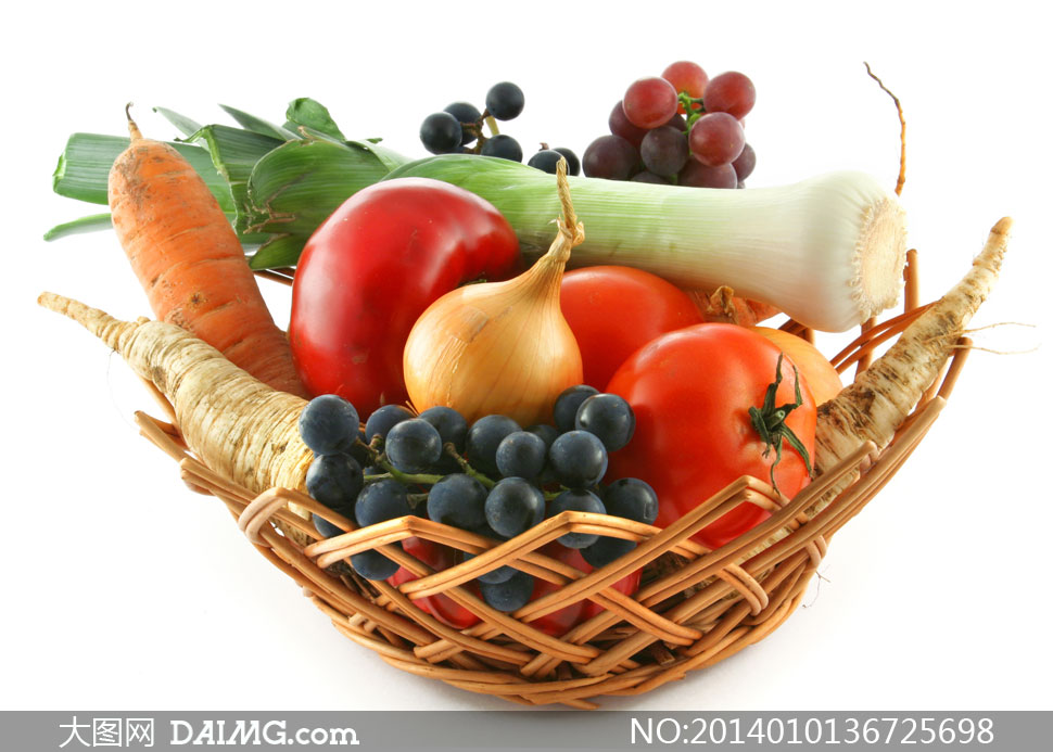 胡萝卜大葱番茄等蔬菜摄影高清图片 - 大图网设计素材
