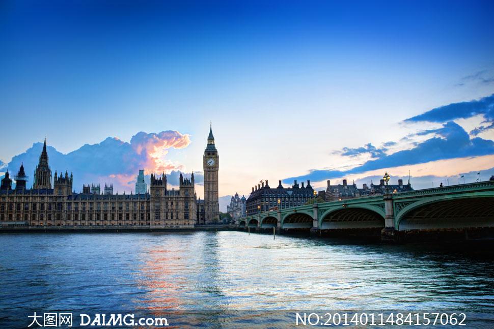 英国威斯敏斯特桥_英国大本钟伦敦桥风光摄影高清图片_大图网图片素材