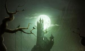 创建一个梦幻城堡场景PS教程素材