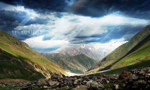 风景照片HDR效果PS教程素材