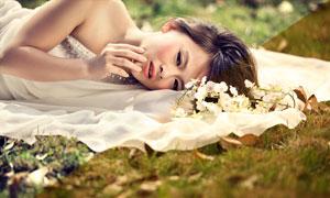 新娘照片美化膚色處理PSD調色圖層