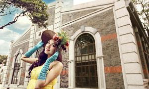 新娘照片韓系唯美效果PSD調色圖層