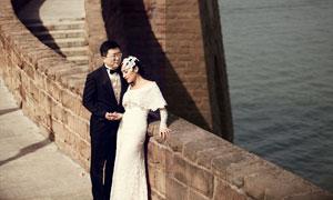 婚紗照片唯美冷色效果PSD調色圖層