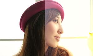 影樓美女逆光唯美膚色效果PSD圖層