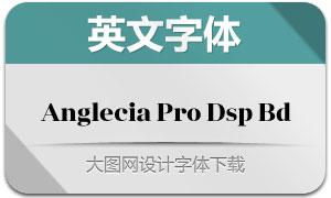 AngleciaProDisplayBold(字体)
