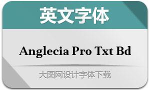 AngleciaProTextBold(英文字体)