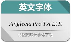 AngleciaProTextLightItalic(字体)
