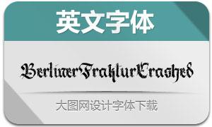 BerlinerFrakturCrashed(字体)