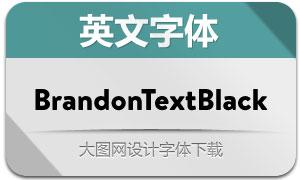 BrandonTextBlack(英文字体)